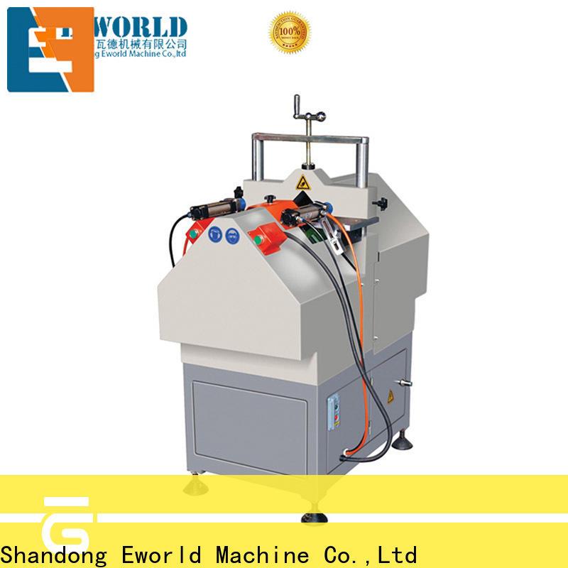 Eworld Machine single upvc welding machine factory for manufacturing