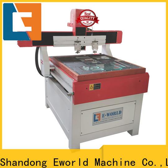 Eworld Machine mirror automatic glass cutting machine dedicated service for sale