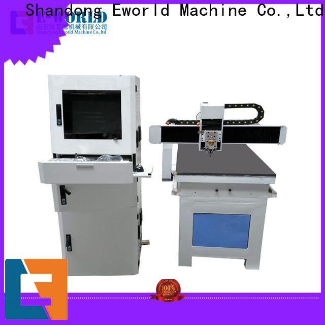 Eworld Machine loading small glass cutting machine exquisite craftsmanship for industry