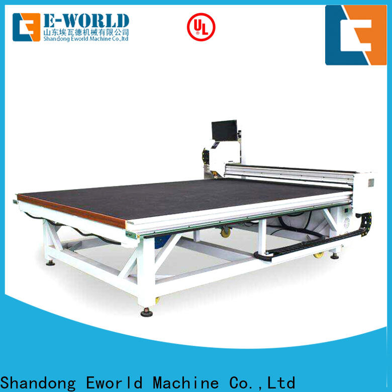 Eworld Machine semiautomatic automatic glass cutting production line dedicated service for sale
