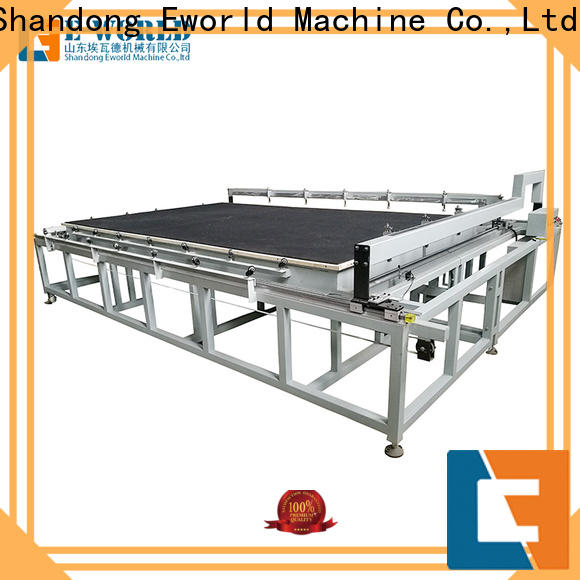 Eworld Machine reasonable structure glass cutting machine for sale exquisite craftsmanship for industry
