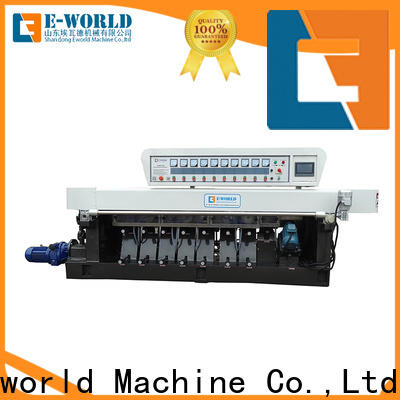 Eworld Machine trade assurance glass beveling machine for sale OEM/ODM services for manufacturing