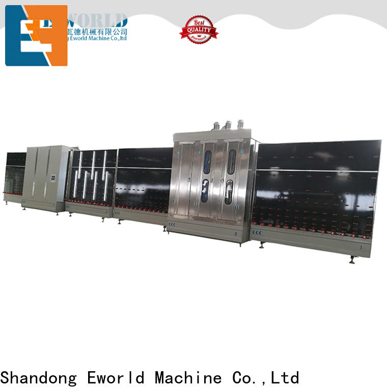 Eworld Machine standardized insulating glass line provider for commercial industry