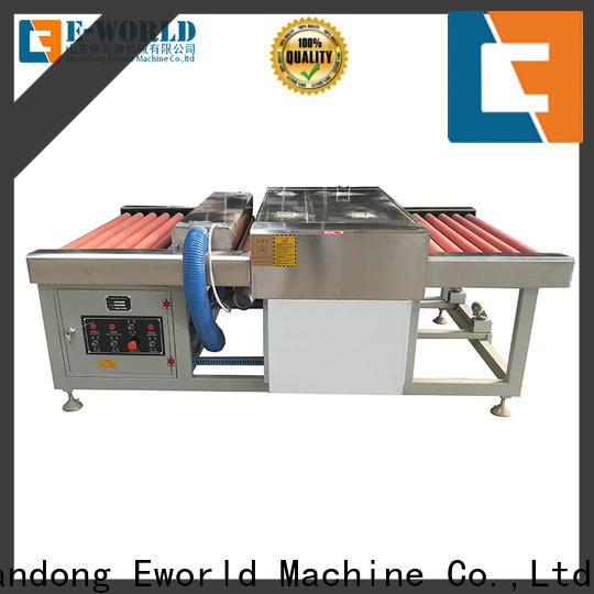 Eworld Machine technological glass washing and drying machine supplier for industry