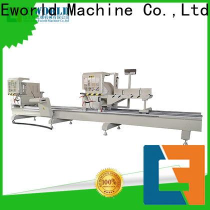 Eworld Machine fine workmanship aluminium corner crimping machine OEM/ODM services for global market
