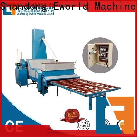 Eworld Machine quality sandblasting glass machinery from China for manufacturing