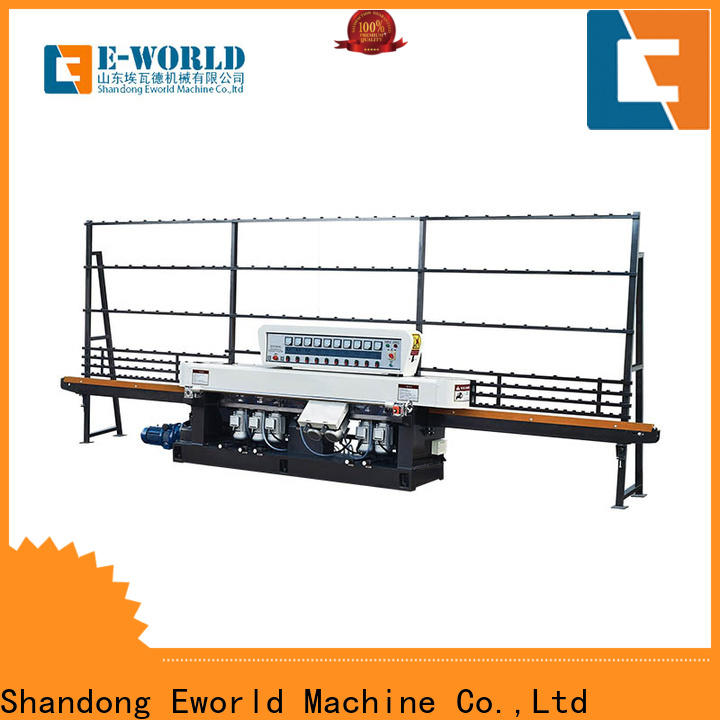 Eworld Machine trade assurance small glass beveling machine OEM/ODM services for industrial production