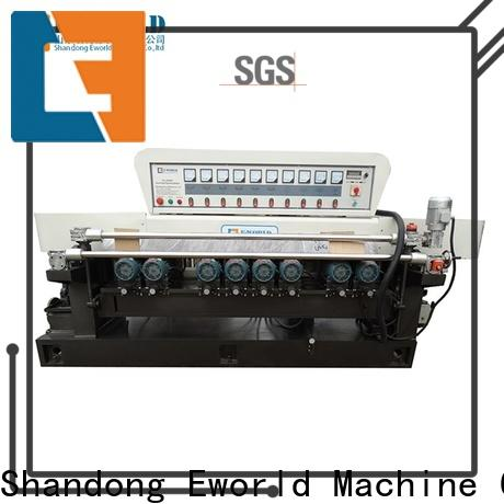Eworld Machine shaped glass beveling polishing machine supplier for industrial production