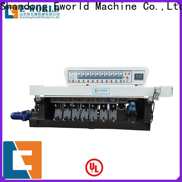 Eworld Machine pencil small glass edge polishing machine manufacturer for industrial production
