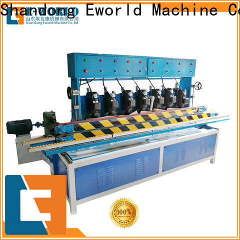 Eworld Machine technological glass beveling machine for sale supplier for manufacturing