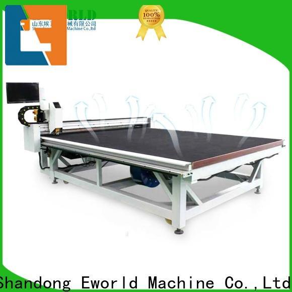 Eworld Machine float laminated glass cutting machine exquisite craftsmanship for machine