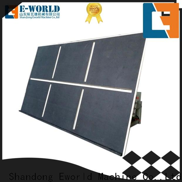 Eworld Machine high reliability glass cutting table exquisite craftsmanship for machine