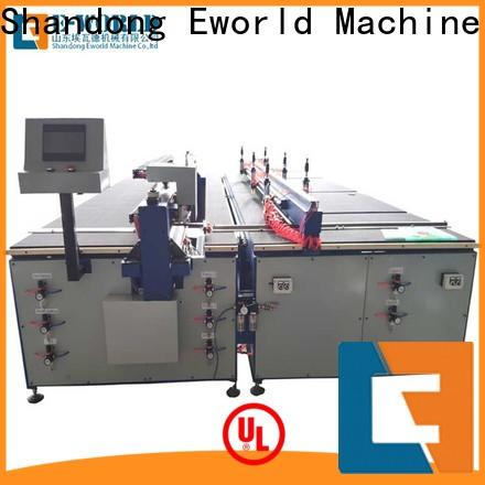 Eworld Machine good safety arc glass cutting machine dedicated service for sale