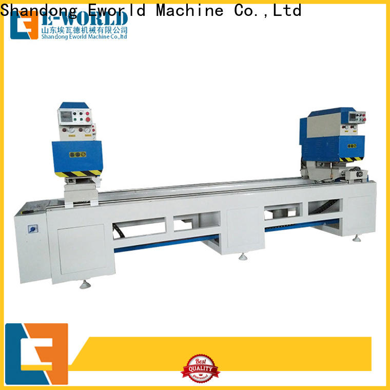 Eworld Machine latest upvc cutting machine order now for industrial production