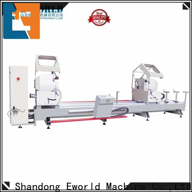 Eworld Machine technological aluminum window machine supplier for industrial production