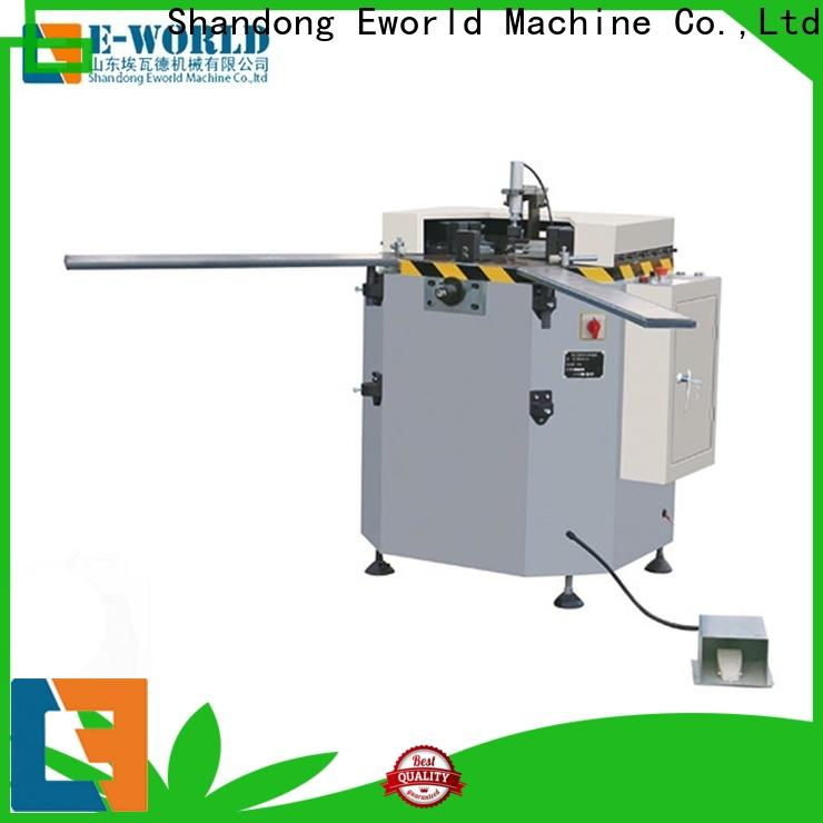 Eworld Machine miter aluminum window making machine OEM/ODM services for global market