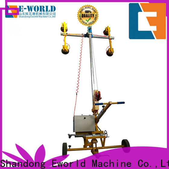 Eworld Machine standardized mobile glass lifter factory for industry