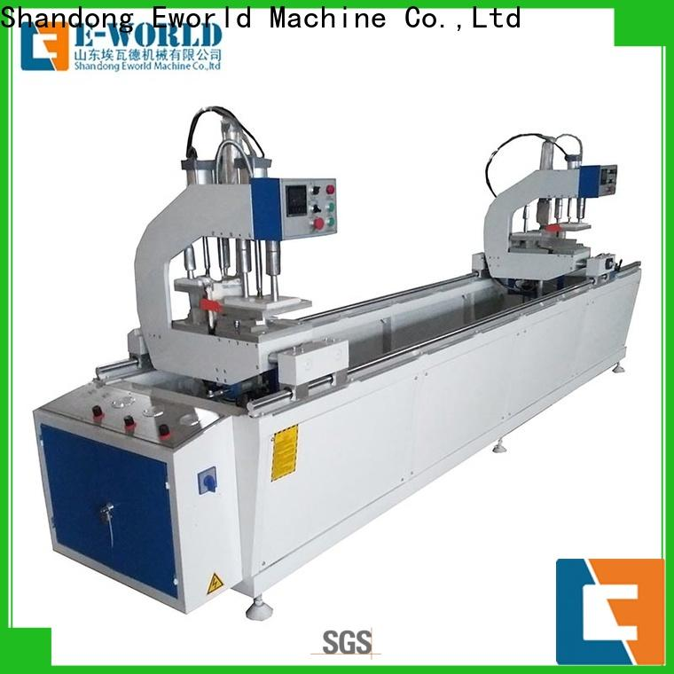 Eworld Machine pvc upvc windows doors equipment supplier for industrial production