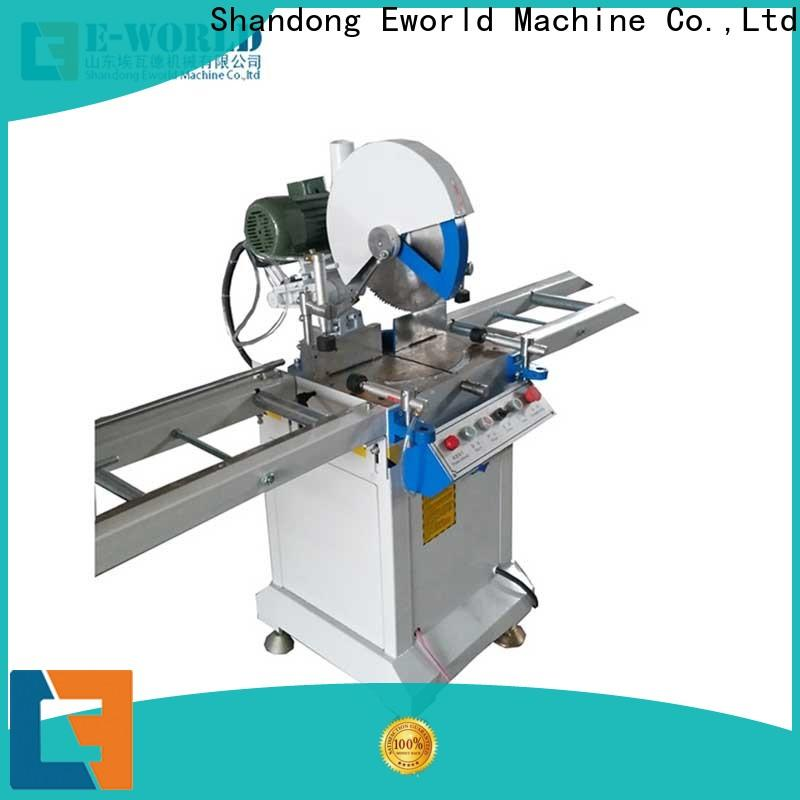 Eworld Machine new upvc welding machine china supplier for importer