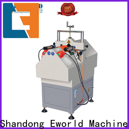 Eworld Machine mullion upvc welding machine price order now for importer