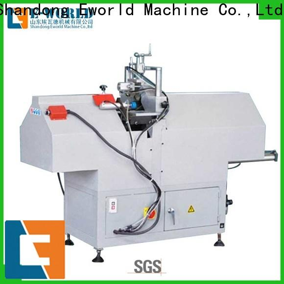 latest upvc window making machine pvc factory for industrial production
