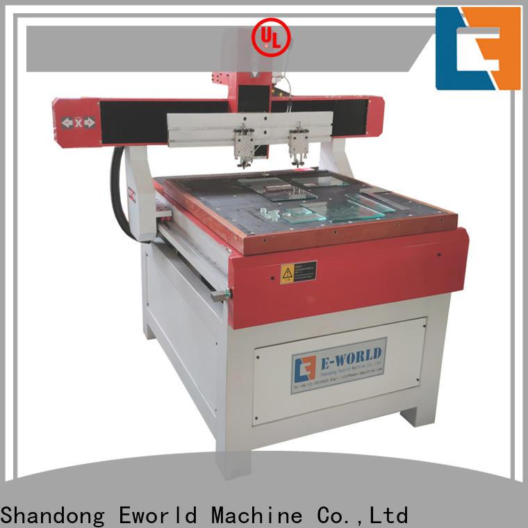 Eworld Machine high reliability laminated glass cutting machine dedicated service for machine