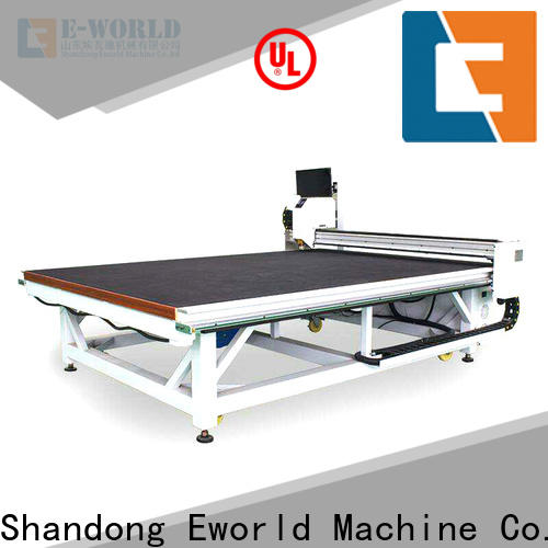 Eworld Machine high reliability glass cutting table for sale dedicated service for industry