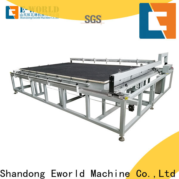 Eworld Machine high reliability manual mosaic glass cutting table foreign trader for industry