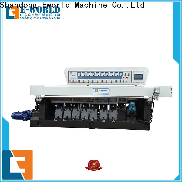 Eworld Machine irregular hand held glass edge polishing machine OEM/ODM services for industrial production