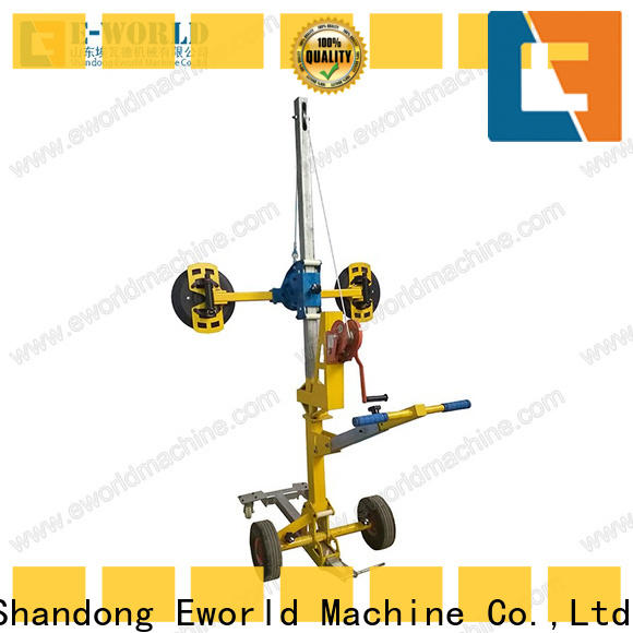Eworld Machine curved double cup suction lifter supplier for distributor