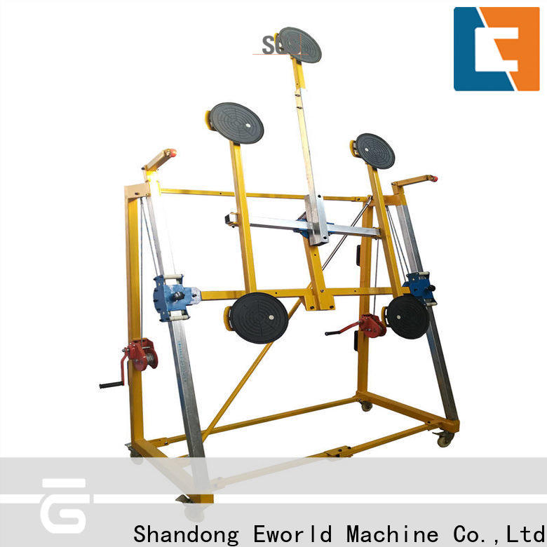 Eworld Machine bus glass lifting equipment factory for industry