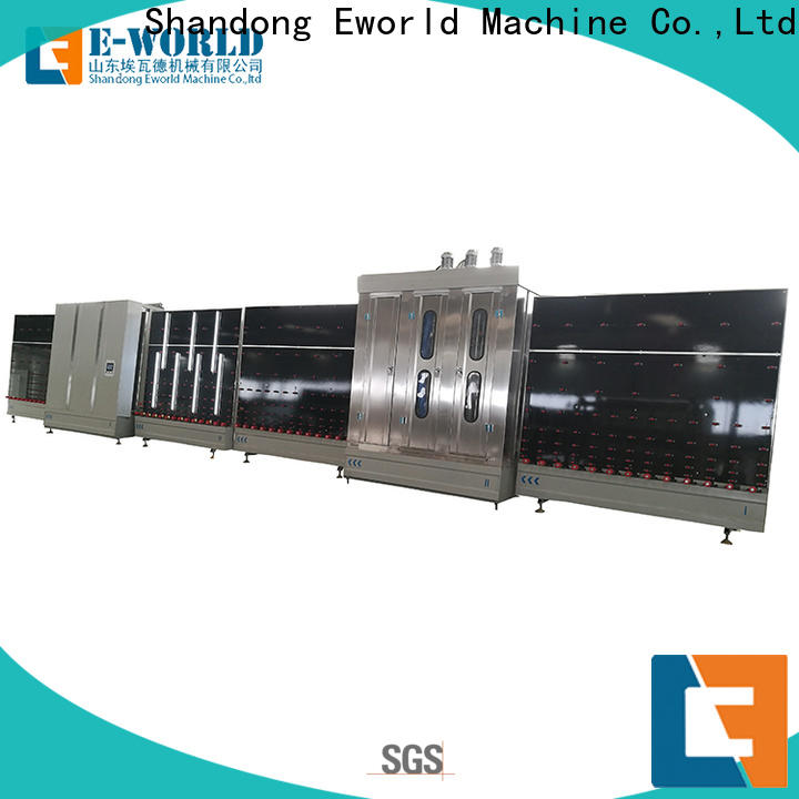 Eworld Machine fine workmanship insulating glass line provider for manufacturing