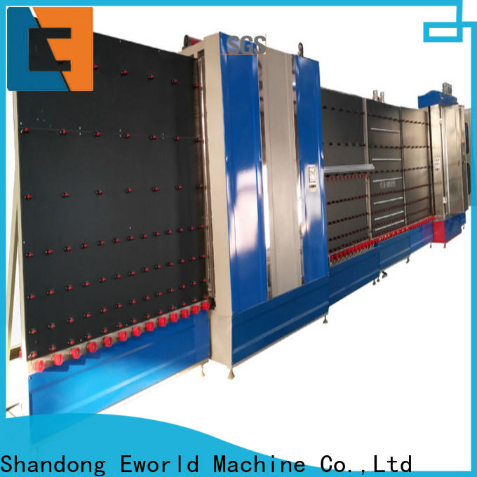 Eworld Machine fine workmanship vertical insulating glass machine factory for industry