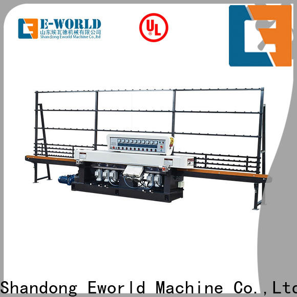 fine workmanship glass beveling machine for sale double OEM/ODM services for manufacturing