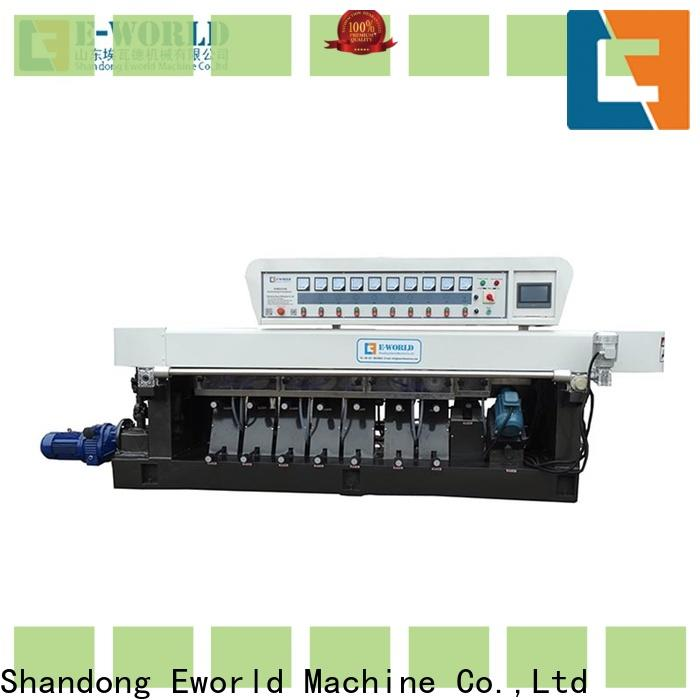 Eworld Machine fine workmanship irregular glass shape grinding machine supplier for manufacturing