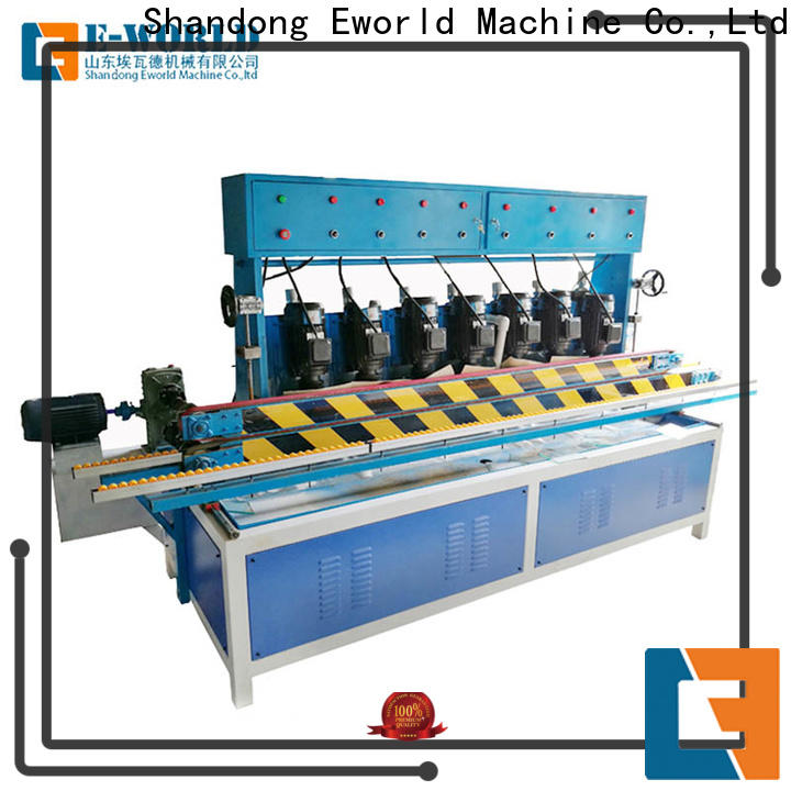Eworld Machine fine workmanship glass edge chamfer machine manufacturer for industrial production