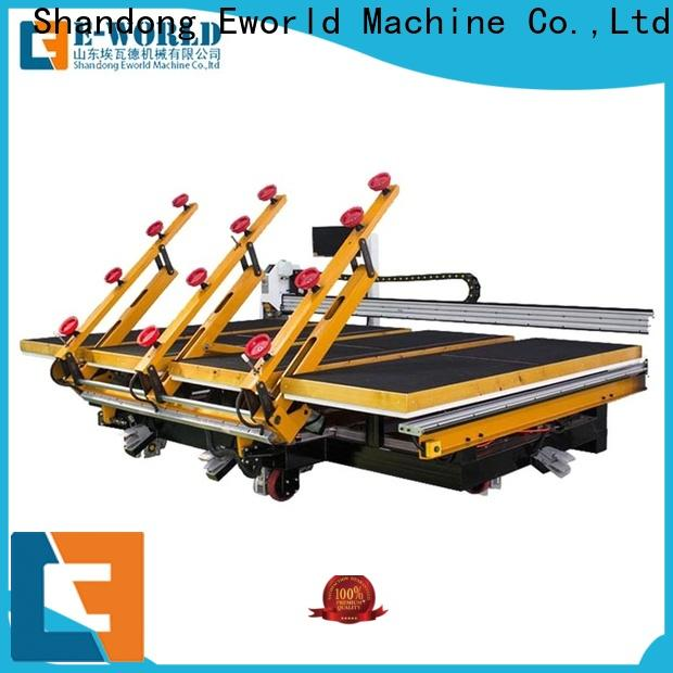 Eworld Machine small automatic glass cutting machine dedicated service for machine
