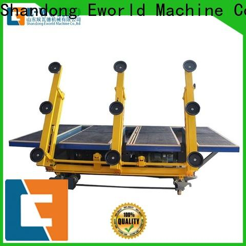 Eworld Machine reasonable structure glass cutting table price dedicated service for industry