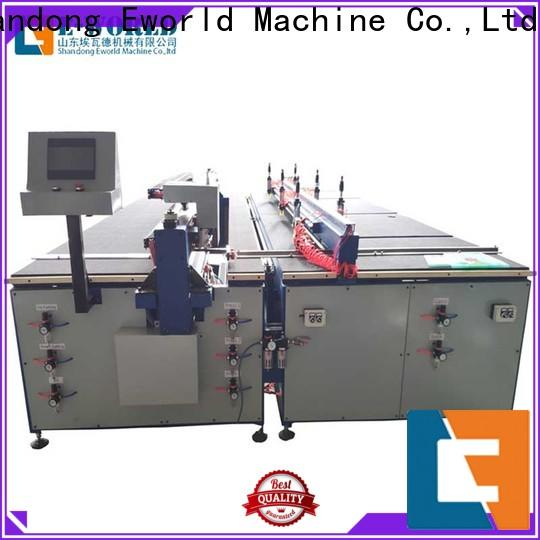 Eworld Machine stable performance small glass cutting machine dedicated service for industry