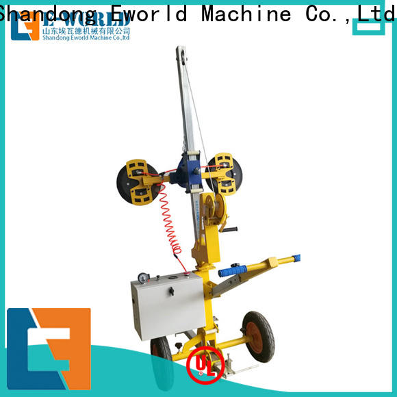 Eworld Machine curved battery glass vacuum lifter for industry