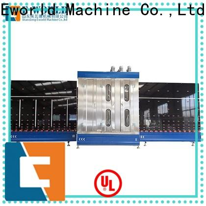 Eworld Machine vertical glass washing and drying machine international trader for distributor