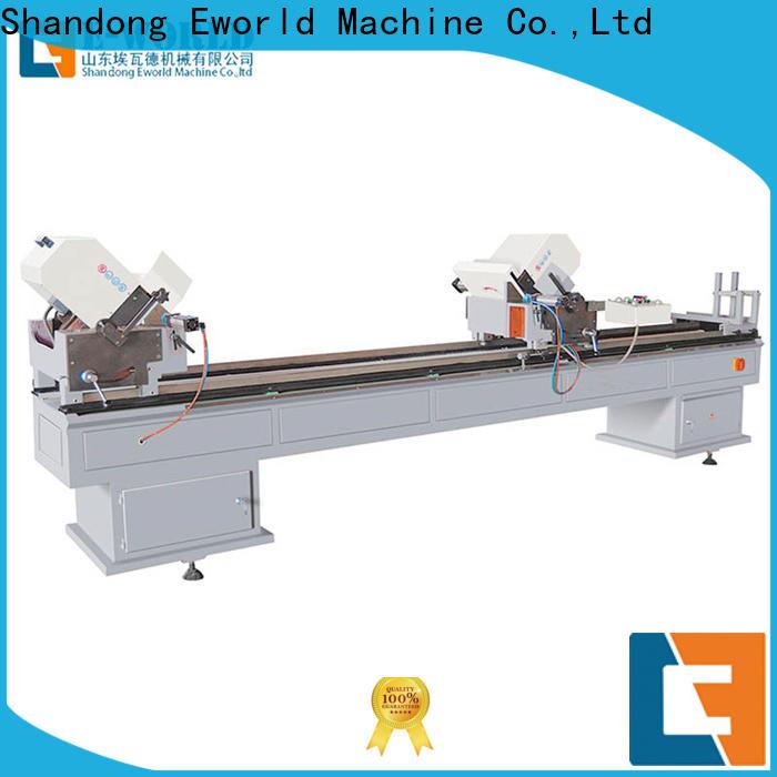 Eworld Machine customized pvc window&door making machine factory for manufacturing