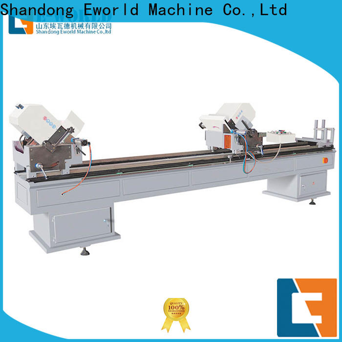 Eworld Machine customized pvc window&door making machine factory for manufacturing