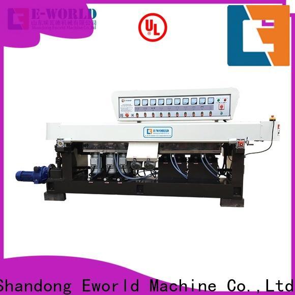 Eworld Machine irregular glass edging machine price manufacturer for industrial production