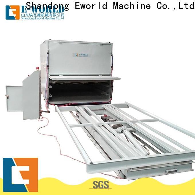 Eworld Machine fine workmanship glass laminating equipment order now for industry