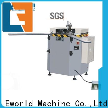 Eworld Machine technological aluminum windows doors machine supplier for industrial production