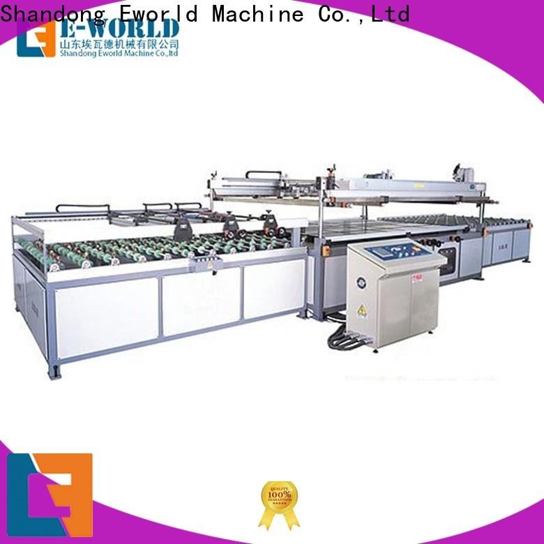 Eworld Machine trade assurance screen printer machine exporter for industrial production