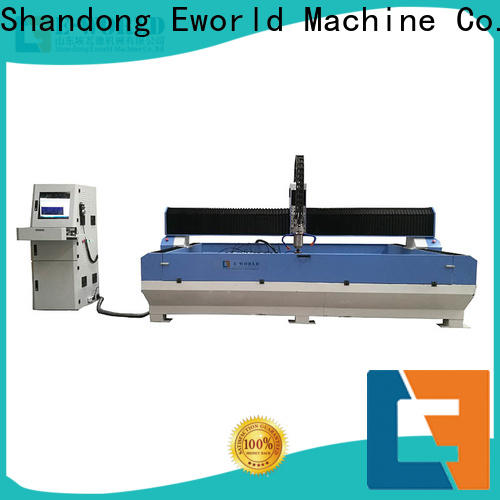 Eworld Machine reasonable structure cnc glass groove milling machine foreign trader for sale