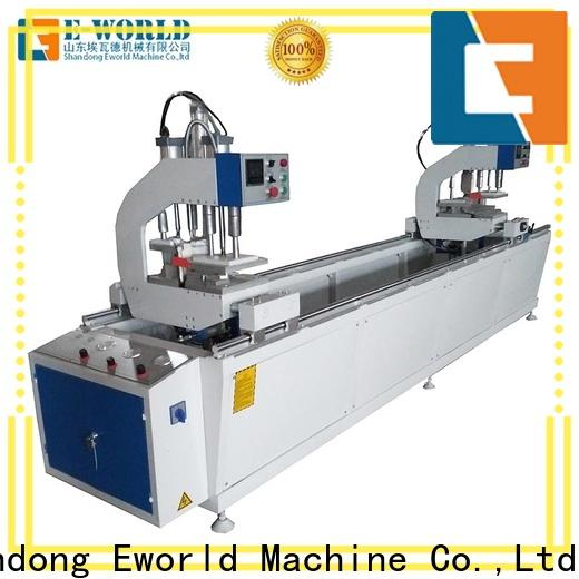 Eworld Machine upvc UPVC window door machine factory for importer