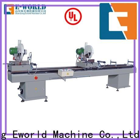 Eworld Machine latest upvc window machine price order now for importer